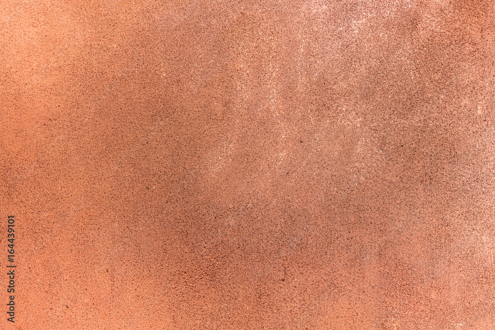 Fototapeta Copper stucco wall. Antique bronze. relief, rich bronze texture for background. Texture, copper and stained
