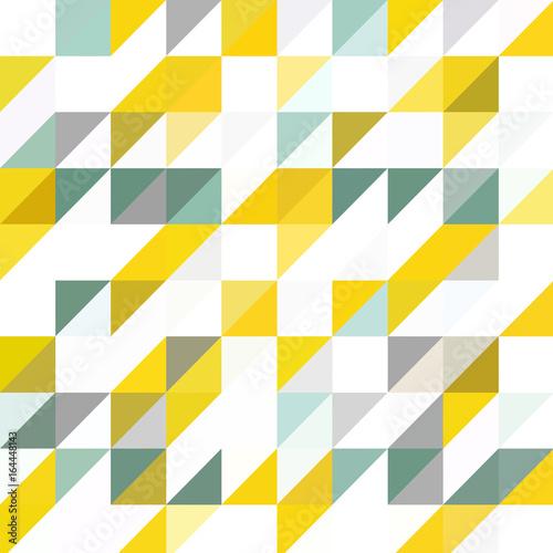 Naklejka dekoracyjna Wektorowy geometryczny wzór z trójkątów