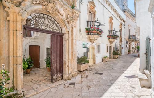Foto auf Gartenposter Südeuropa Locorotondo, Bari Province, Apulia, southern Italy.