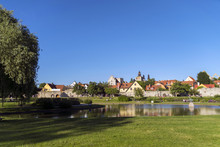 Den Vackra Parken Almedalen I ...