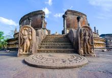 Ruins Of Polonnaruwa, Sri Lank...