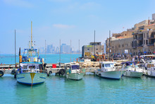 Old Town And Port Of Jaffa Of ...