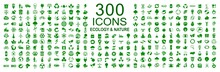 Set Of 300 Ecology Icons – S...