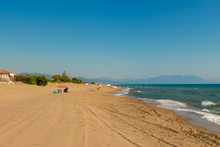 Sandy Beach In Western Pelopon...