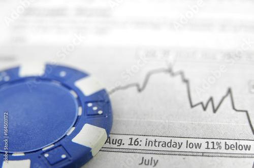 фотография  Blue chip stock