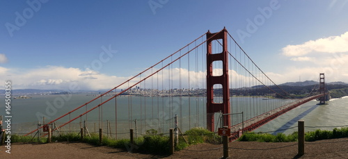 Keuken foto achterwand San Francisco Panorama: Golden Gate Bridge, San Francisco