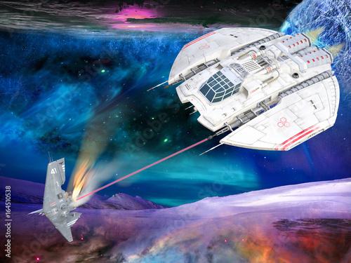 pojedynek-mysliwcow-w-przestrzeni-planety
