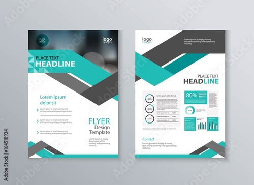 abstract cover and layout design template for marketing material