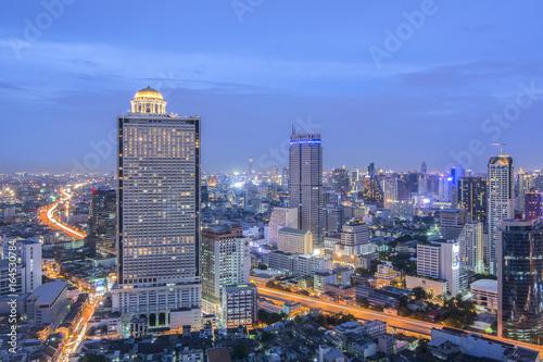 Photo  View Bangkok Business District