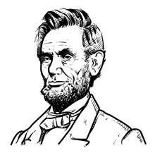 Abraham Lincoln Vector Illustr...