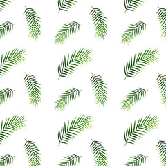fototapeta tropikalne palmy wzór
