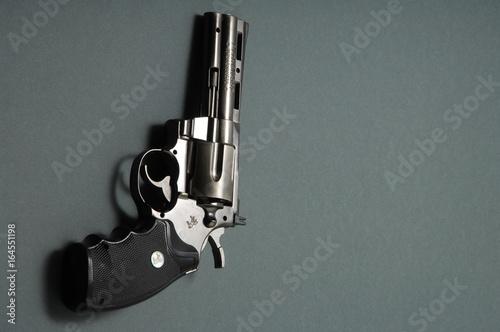 Fototapeta Revolver close up obraz na płótnie