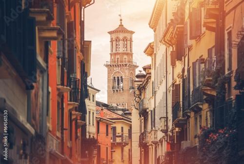 Streets of Verona Italy