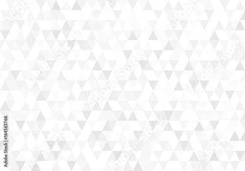 Abstract retro pattern of geometric shapes. Gradient mosaic backdrop. Geometric hipster triangular background. Vector illustration. Isolated on white background