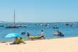 Presqu'île du Cap Ferret (Bassin d'Arcachon, France), plage de Piquey
