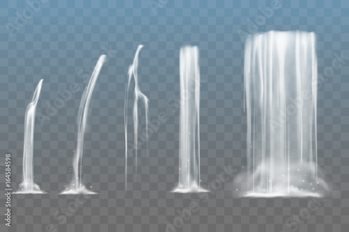 Waterfall set - 164584598