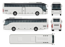 Bus Vector Template For Car Br...
