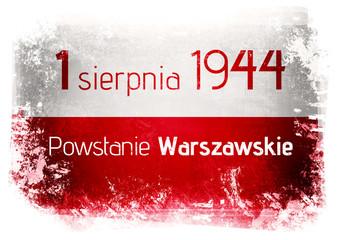 Fototapeta1 sierpnia 1944 Powstanie Warszawskie