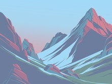 Mountains In The Afternoon