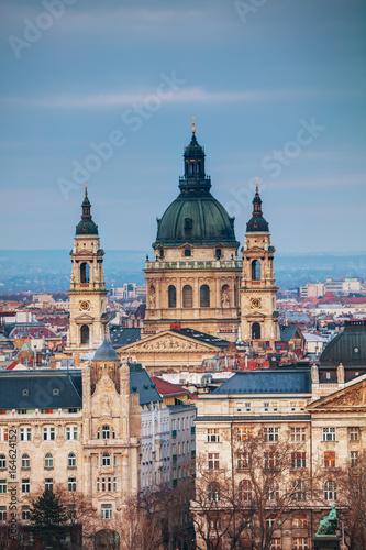 St Stephen (St Istvan) Basilica in Budapest Canvas