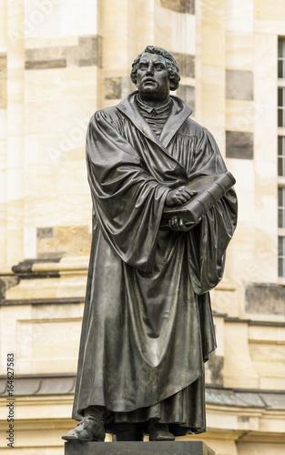 Zdjęcie XXL Pomnik Marcina Lutra w Dreźnie
