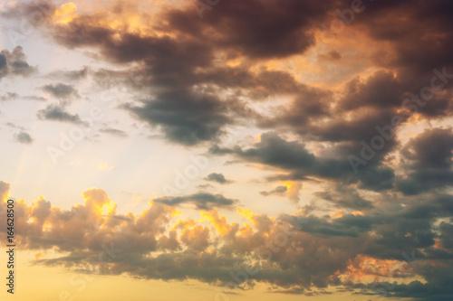 Fototapety, obrazy: Colorful dramatic sky