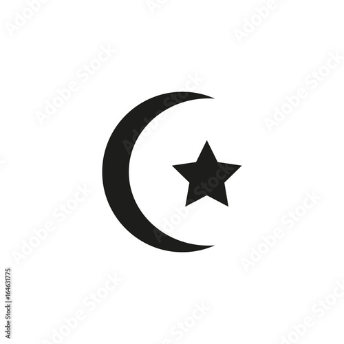 Islam Symbol Simple Icon Buy This Stock Vector And Explore Similar