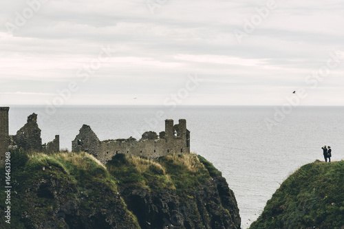 Photo Wonderful Dunottar castle ruins
