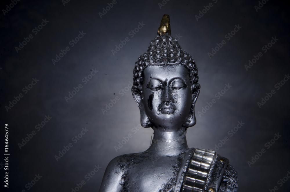 Stampe Buda con fondo oscuro