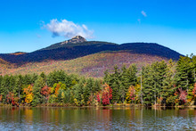 Fall Foliage On The Lake With ...