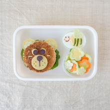 Bear And Bumble Bee Lunch Box,...
