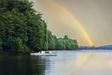 Fototapeta Rainbow - Kaszuby-po wieczornej burzy