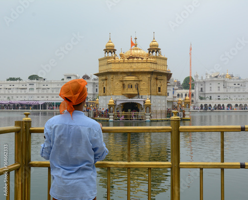 Staande foto India Golden Temple in Amritsar, India