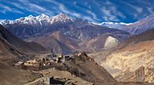 Panorama Of Jarkot Village In ...