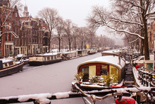 Canal Boats, Terrace Houses An...