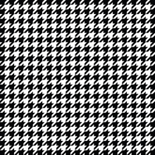 Black And White Houndstooth Pa...