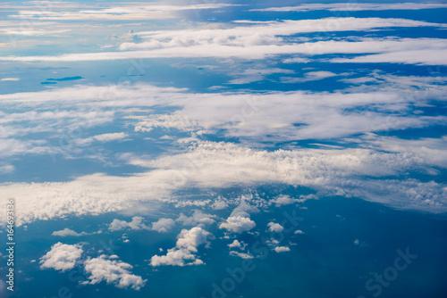 Papiers peints Arctique beautiful sky above the clouds