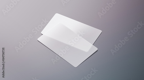Blank plastic transparent business cards mock up 3d rendering blank plastic transparent business cards mock up 3d rendering clear pvc namecard mockup with cheaphphosting Choice Image