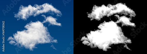 Photo White cloud