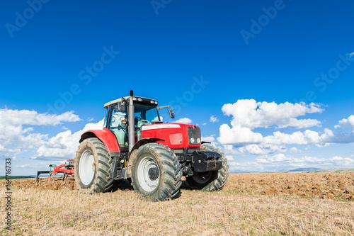 Fotografie, Obraz  Tractor agrícola