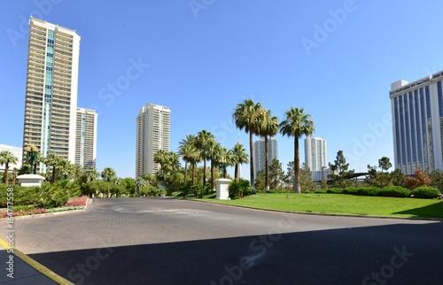 Obraz na dibondzie (fotoboard) Bloki mieszkalne w Las Vegas