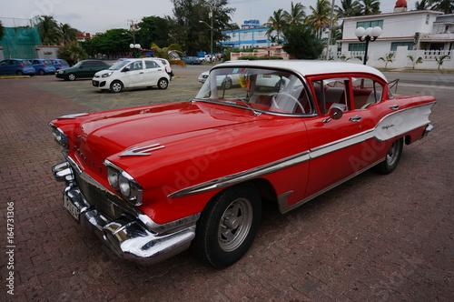 Türaufkleber Autos aus Kuba Cuba La Havane