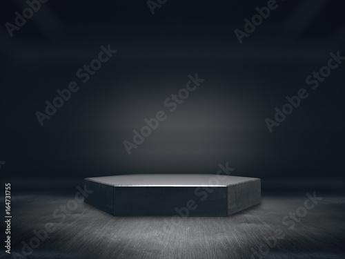 Fotografie, Obraz  Pedestal for display,Platform for design,Blank product stand with