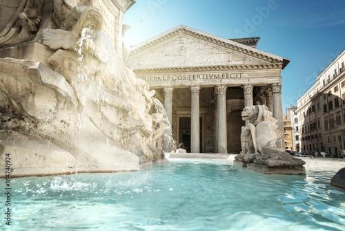 Photo Pantheon Fountain, Rome