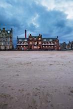 The Historic Building Of Portobello Baths On Edinburgh's Seaside. Scotland, United Kingdom