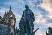 The Monument Of Adam Smith On ...