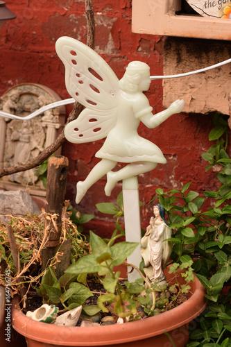 Photo  Fairy in a Flower Pot