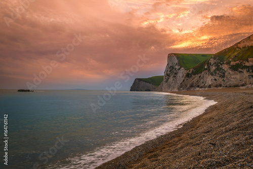 Photo  Durdle Door Sunset