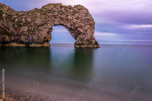 Durdle Door Long Exposure Seascape Poster
