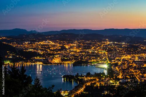 Photo  Annecy vu du ciel